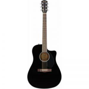 FENDER CD-60SCE Black Электроакустическая гитара